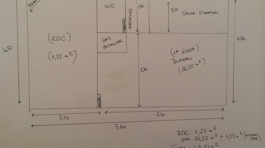 Locaux bureaux 3 pi ces 47 50m2 rue salvador allende for Rue salvador allende poitiers